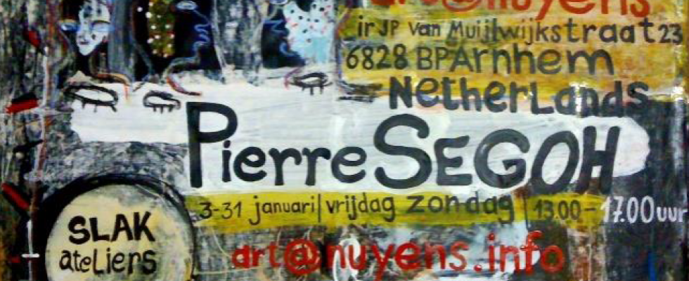 Flyer Pierre Segoh