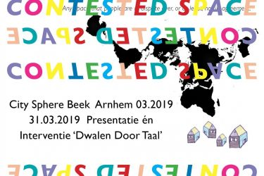 City Sphere Beek & Dwalen Door Taal - B53 Contested Space Project